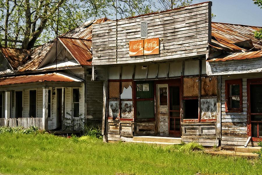 Arkansas Photograph - Abandonded by Marty Koch