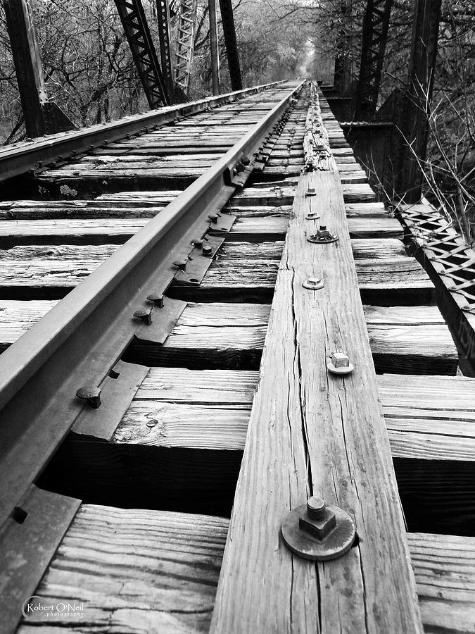Railroad Photograph - Abandoned #11  by Robert ONeil