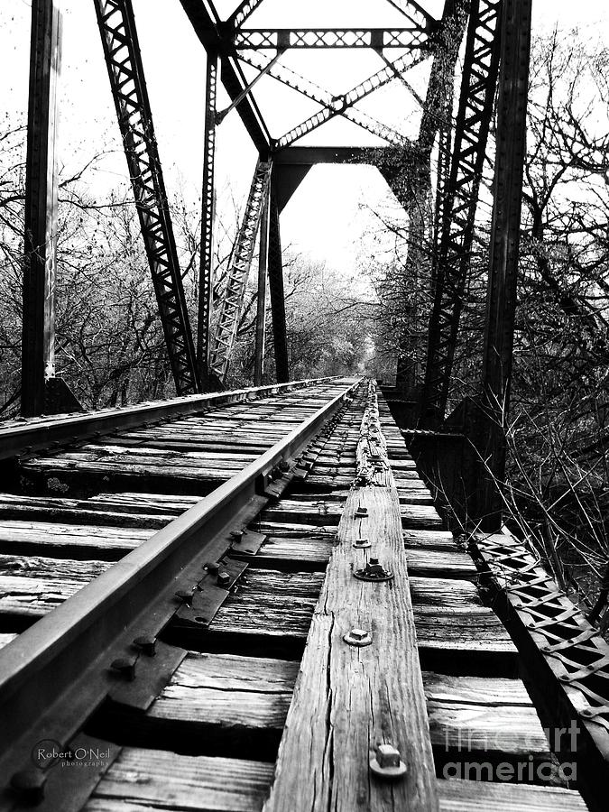 Railroad Photograph - Abandoned #12 by Robert ONeil