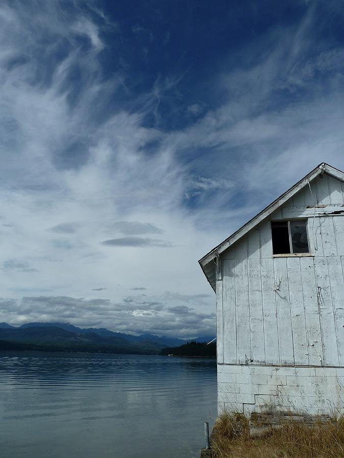 Hood Canal Photograph - Abandoned By The Water by Patricia Strand