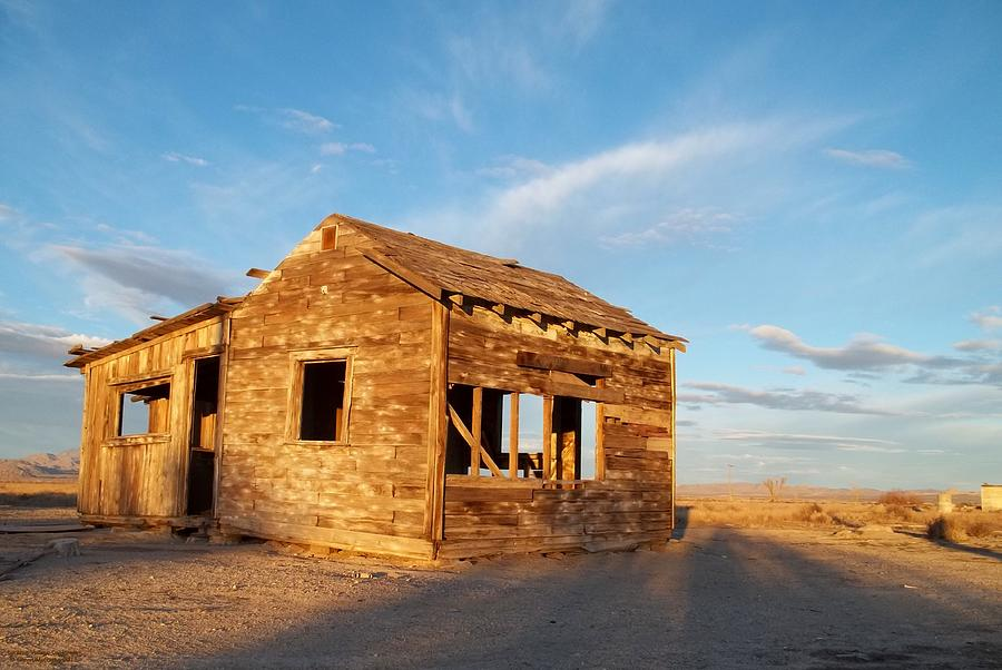 Old Home Photograph - Abandoned - California Desert by Glenn McCarthy Art and Photography