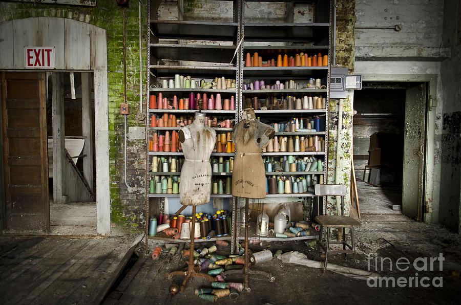 Abandoned Clothing Factory Photograph