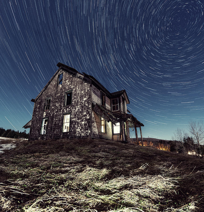 Abandoned Farm House In Nova Scotia At Photograph by Shaunl