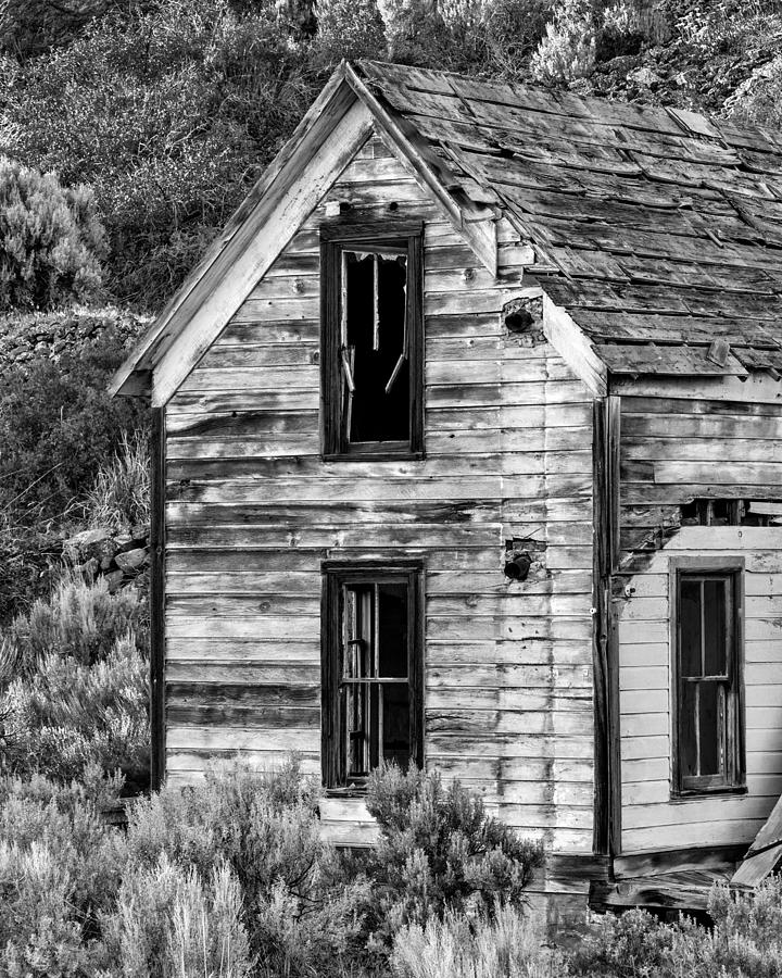 2013 Photograph - Abandoned Farmhouse - Alstown - Washington - May 2013 by Steve G Bisig