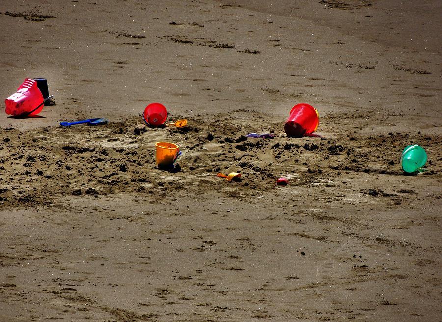 Seashore Photograph - Abandoned by Helen Carson