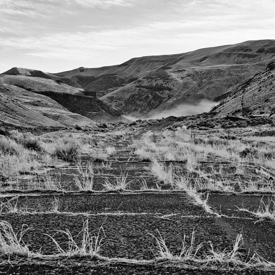 Abandoned Photograph - Abandoned Highway - Yakima County - Washington by Steve G Bisig