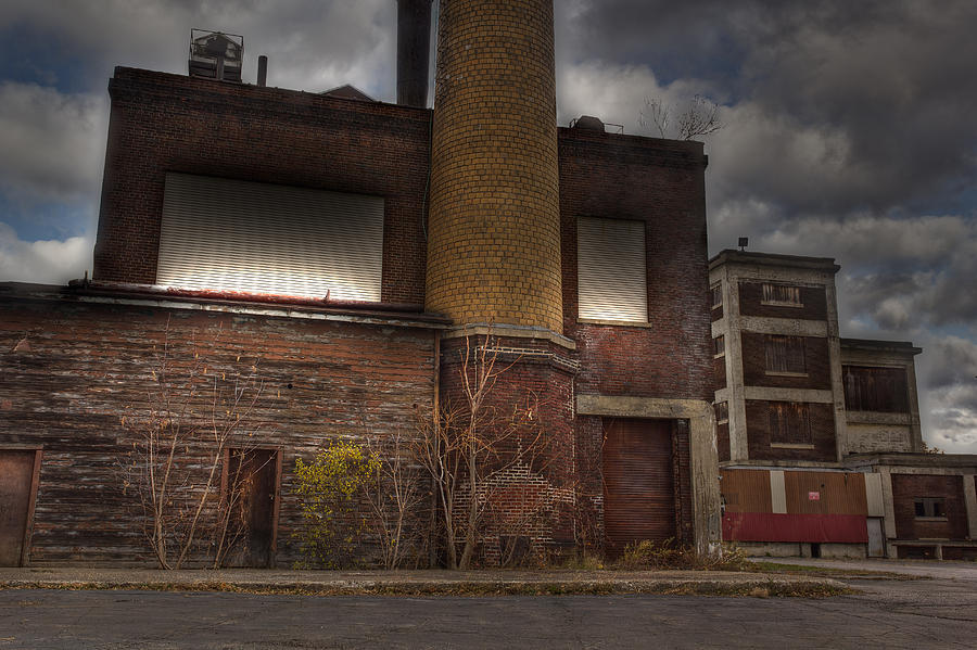 Abandoned Warehouse Photograph - Abandoned In Hdr 2 by Tim Buisman