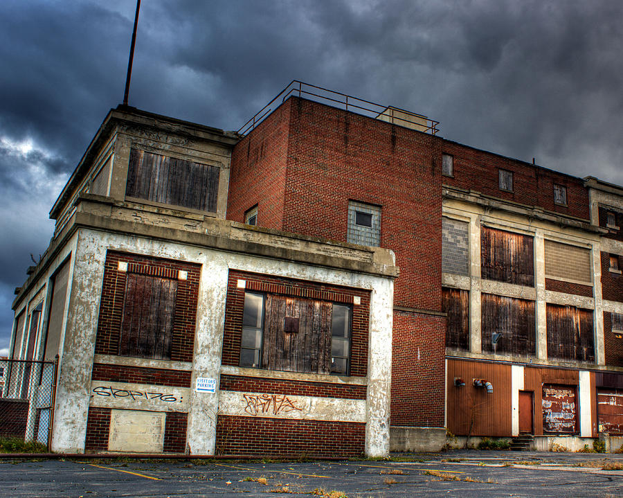 Warehouse Photograph - Abandoned In Hdr by Tim Buisman