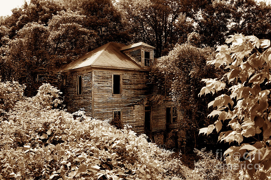 Mountain Photograph - Abandoned In Time by Melissa Petrey