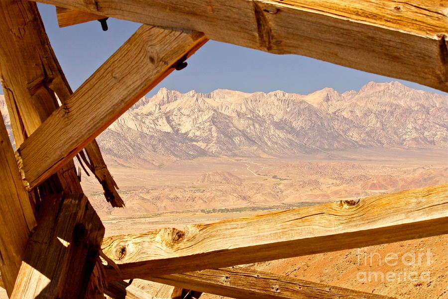 Desert Photograph - Abandoned Landscape by Michael Cinnamond
