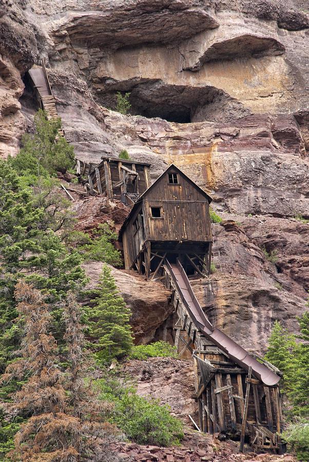 Abandoned Mine Photograph by Melany Sarafis