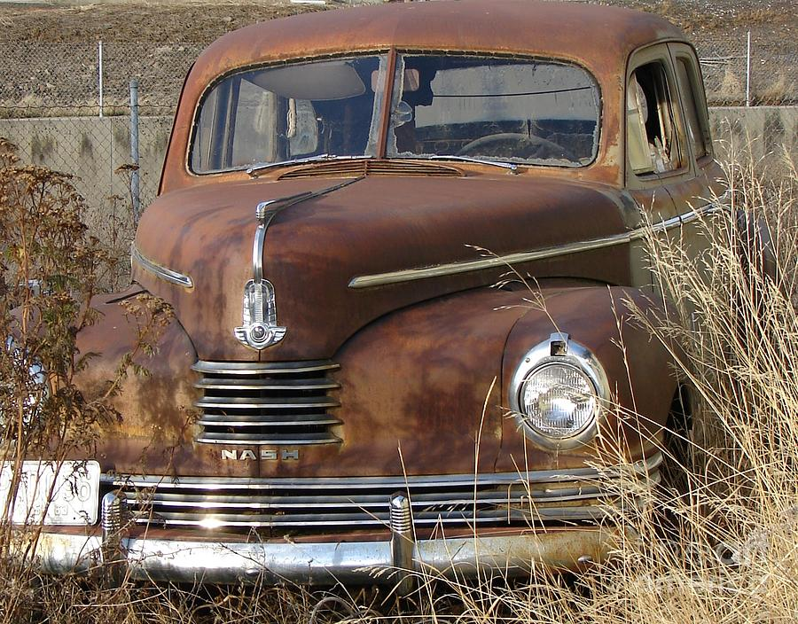 Abandoned Nash Rambler Rusty And Old Want A Ride? Photograph by ...