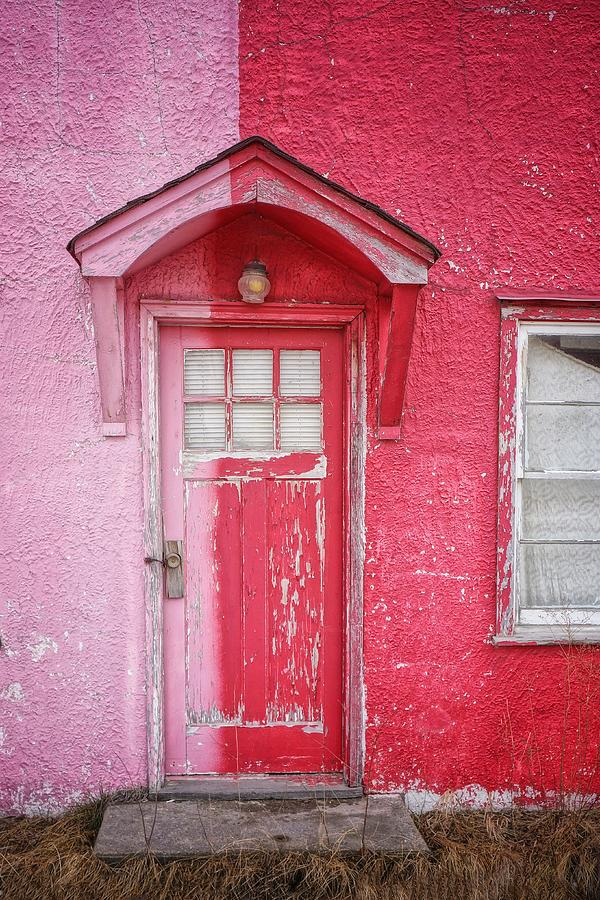 Abandoned Pink And Red House Photograph by Stan Strange / Eyeem