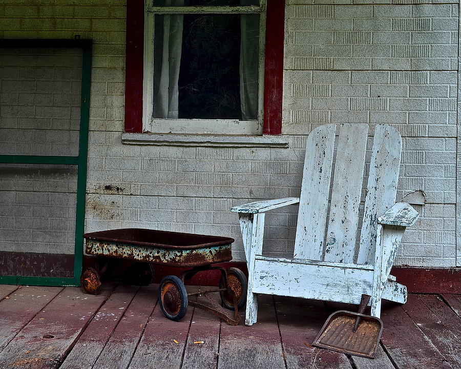 Abandoned Photograph - Abandoned by Frozen in Time Fine Art Photography