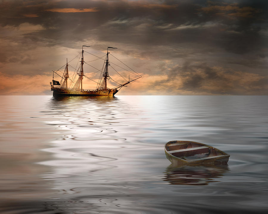 Ship Photograph - Abandoned by Stephen Warren