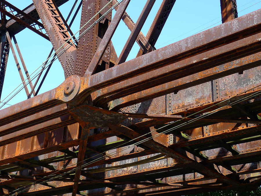 Bridge Photograph - Abandoned - Whitford Railroad Bridge by Richard Reeve