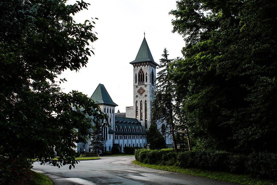 Chapelle Photograph - Abbaye St-Benoit by Julien Boutin