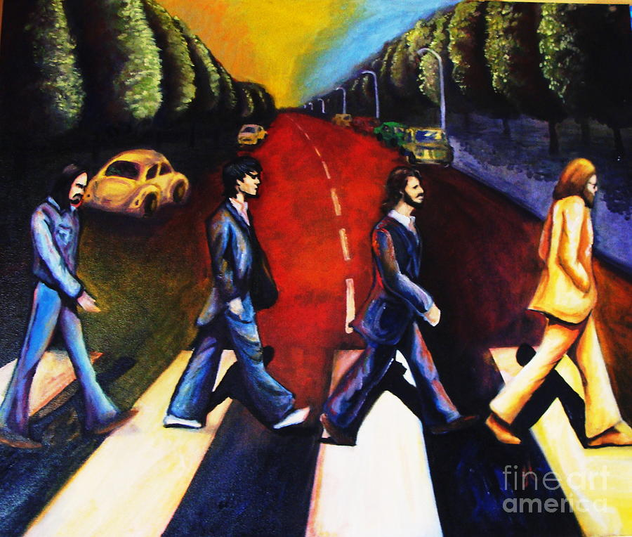 Abbey Road Painting By Jamie Geragosian