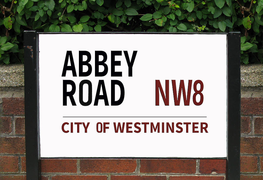 Abbey Road Street Sign London England Photograph By Tom Conway
