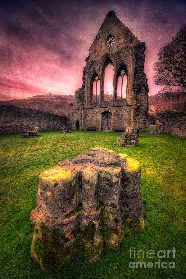 13th Century Photograph - Abbey Ruin by Adrian Evans
