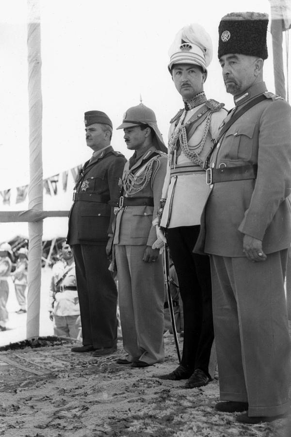1946 Photograph - Abdullah I (1882-1951) by Granger