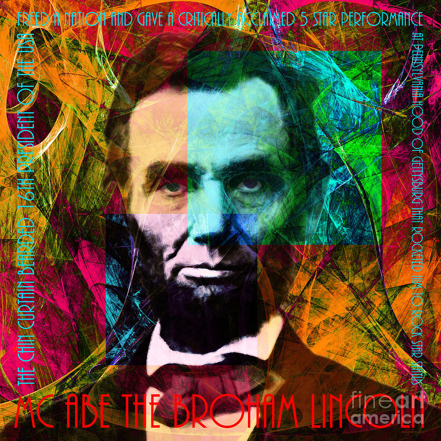 Celebrity Photograph - Abe The Broham Lincoln 20140217 by Wingsdomain Art and Photography