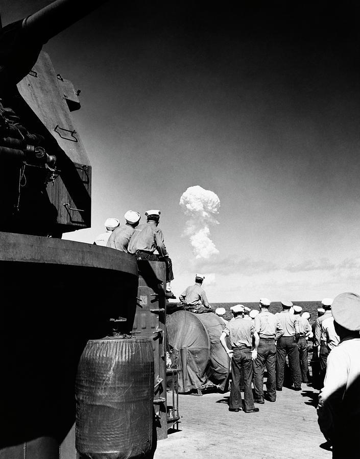 Bikini atomic test site #7