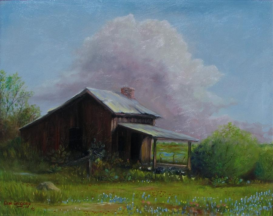 Old House Painting - Abondoned Memories  by Gene Gregory