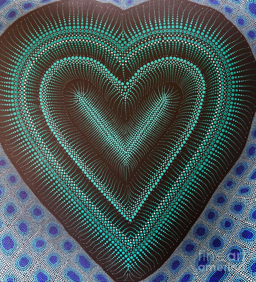 Art Painting - Aboriginal Inspirations 5 by Mariusz Czajkowski