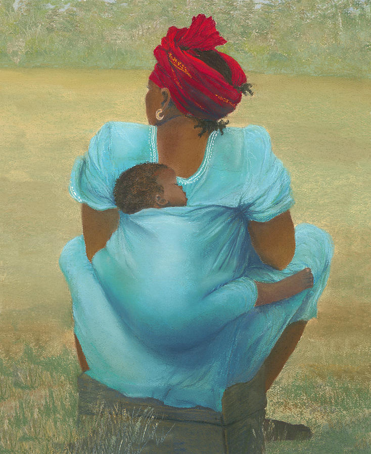 Mother Painting - About Color by Martha J Davies