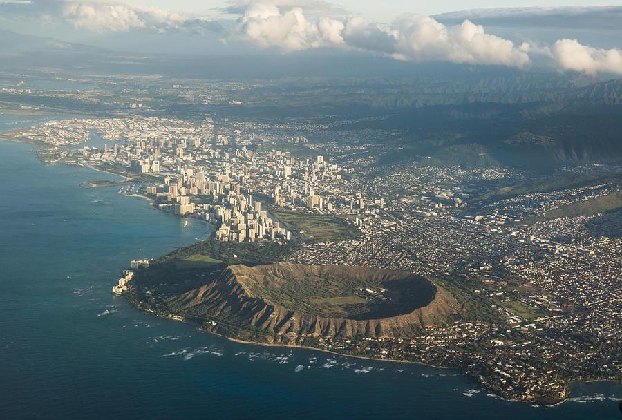 Above Hawaii by Georgia Mizuleva