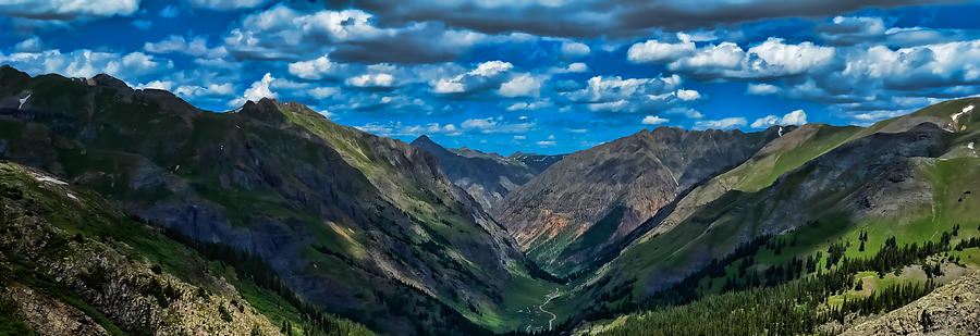 Mountains Photograph - Above It All by Don Schwartz