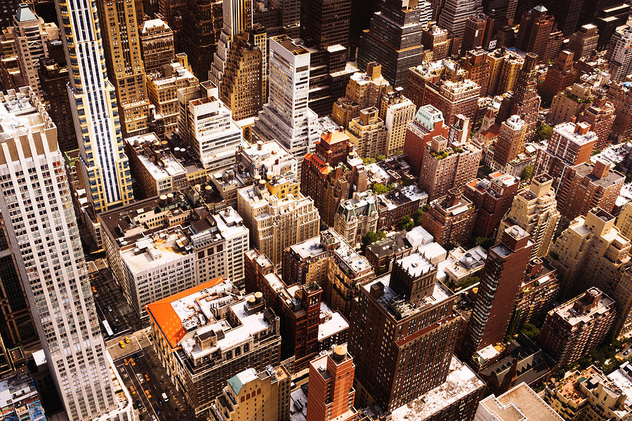 Nyc Photograph - Above New York City by Vivienne Gucwa