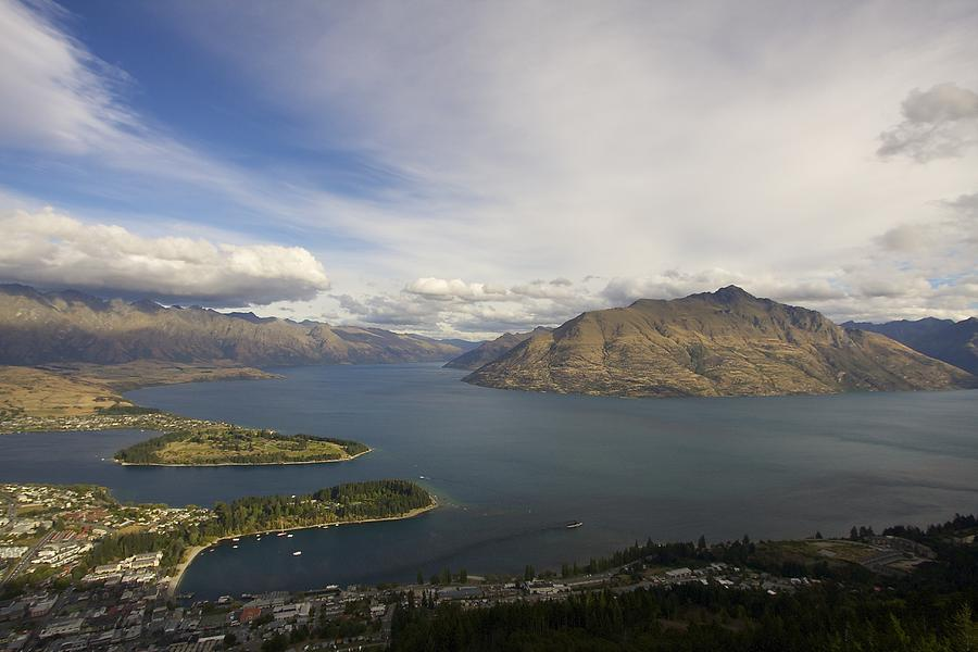 New Zealand Photograph - Above Queenstown #2 by Stuart Litoff
