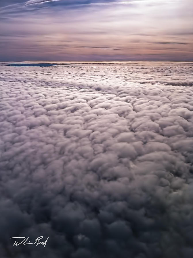 Cloud Photograph - Above The Clouds 1 by William Reek