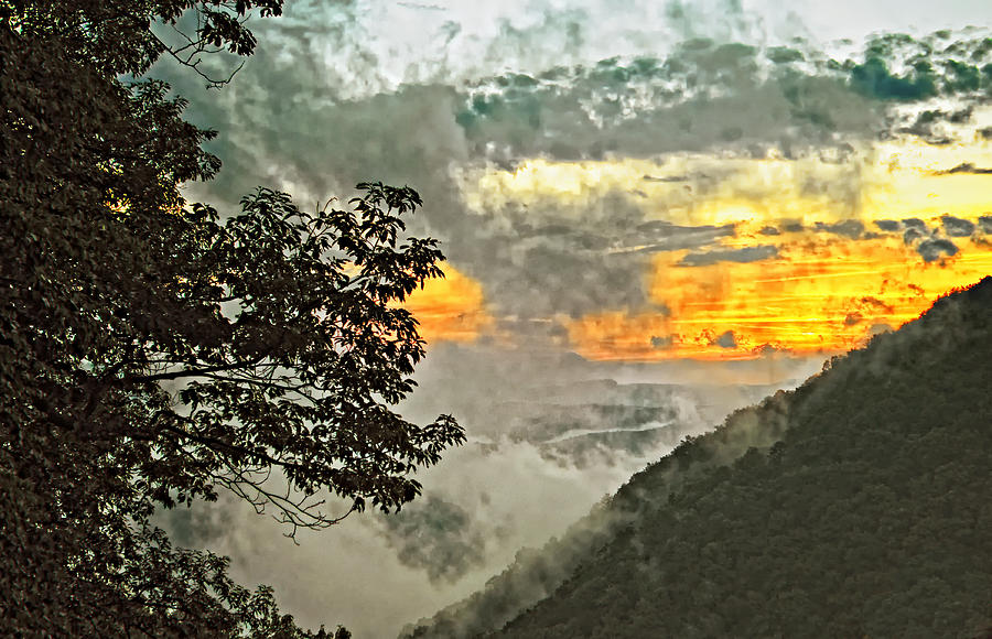 Babcock State Park Photograph - Above The Clouds 3 by Steve Harrington
