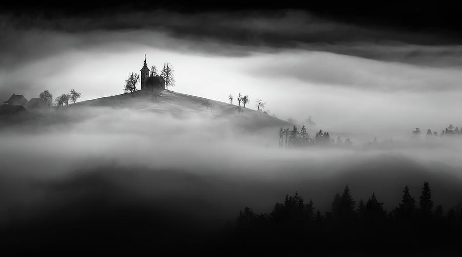 Mist Photograph - Above The Mist by Sandi Bertoncelj
