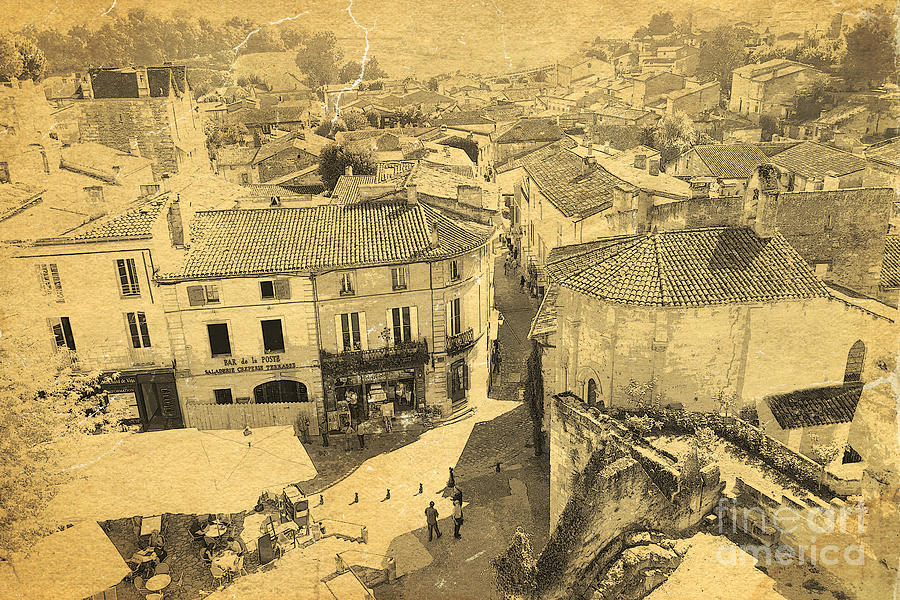 Above The Roofs Of Saint-emilion Photograph