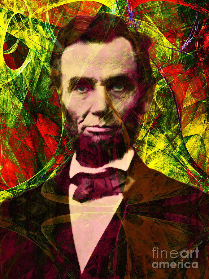 Celebrity Photograph - Abraham Lincoln 2014020502p28 by Wingsdomain Art and Photography