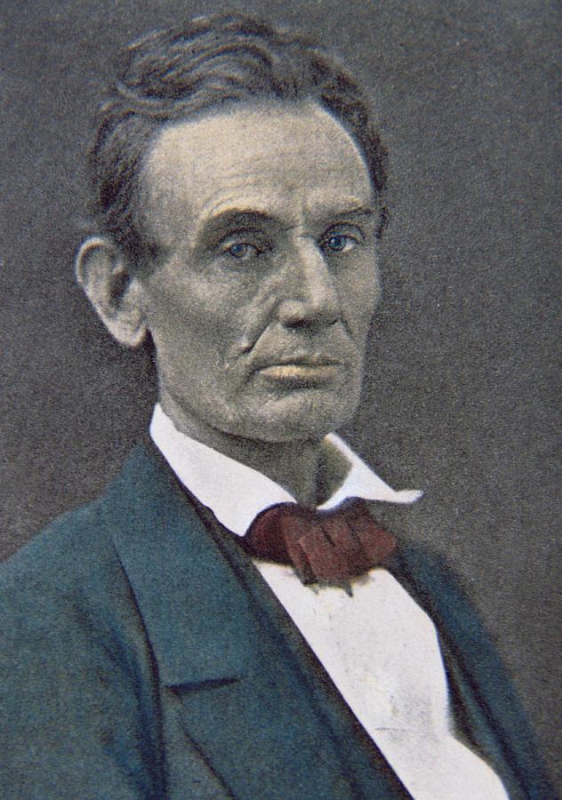 Statesman Photograph - Abraham Lincoln by American Photographer