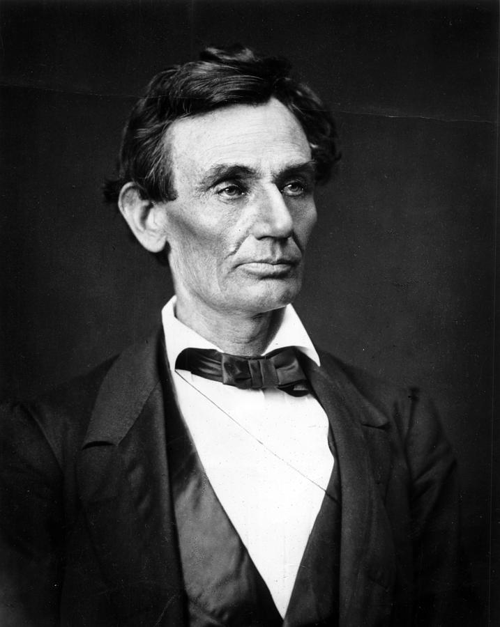 Abraham Photograph - Abraham Lincoln Portrait by Anonymous