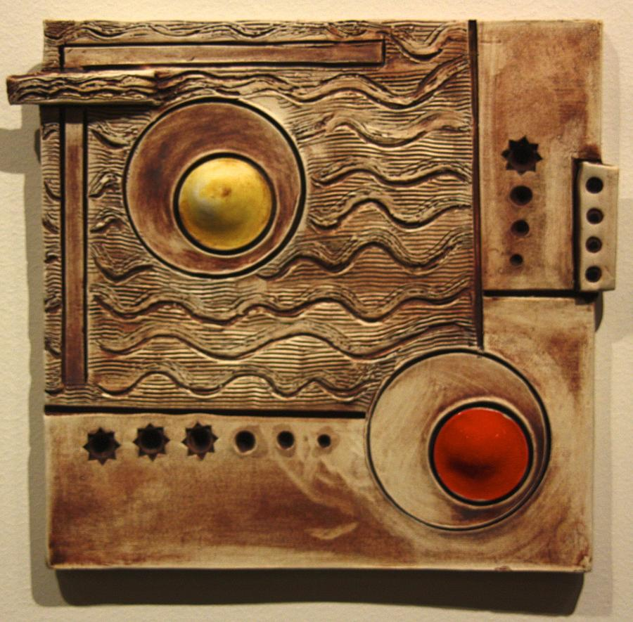 Abstract Ceramic Art - Abstract 1 by Dan Earle