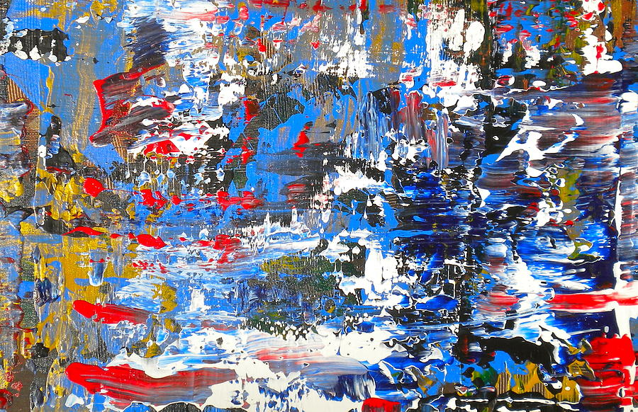 Abstract 1 Painting by Dylan Chambers