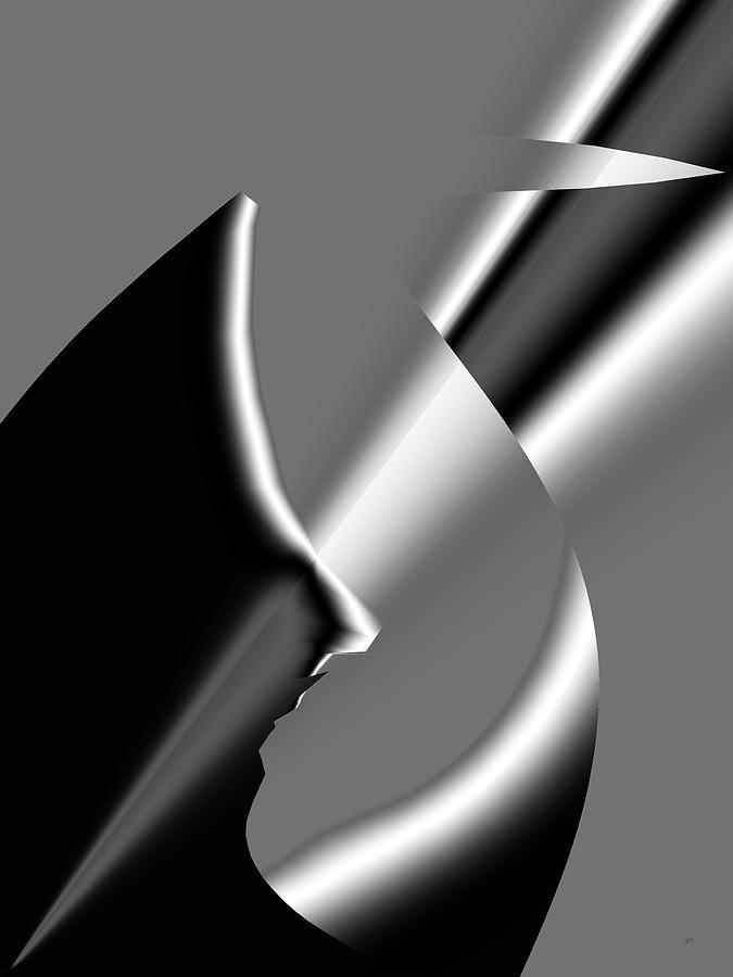 Abstract Digital Art - Abstract 1010  by Gerlinde Keating - Galleria GK Keating Associates Inc