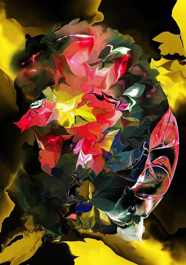 Abstract Digital Art - Abstract 102513 by David Lane