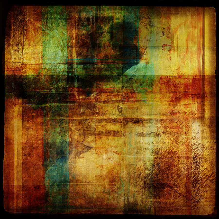 Abstract Digital Art - Abstract 1301 by Mark Preston