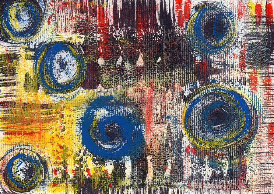 Abstract Painting - Abstract 2 by Angela Bruno