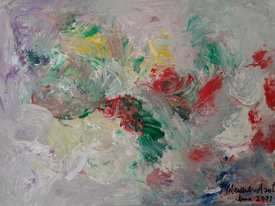 Abstract Painting - Abstract 23 by Fladelita Messerli-