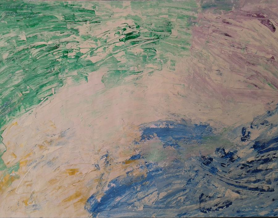 Abstract Painting - Abstract 24 by Fladelita Messerli-