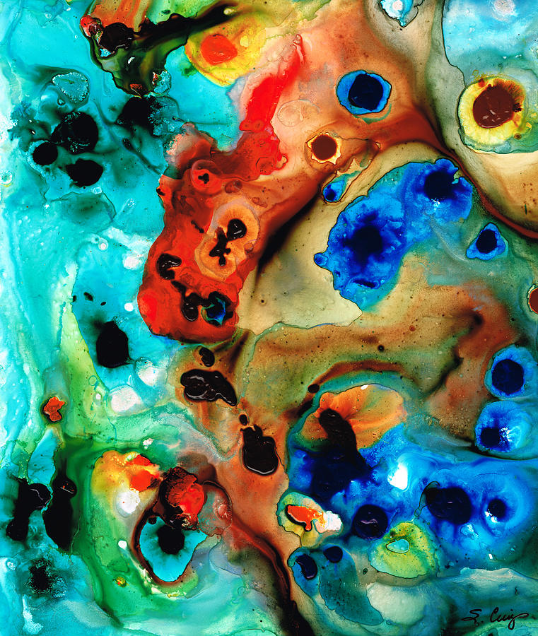 Abstract Art Painting - Abstract 4 - Abstract Art By Sharon Cummings by Sharon Cummings